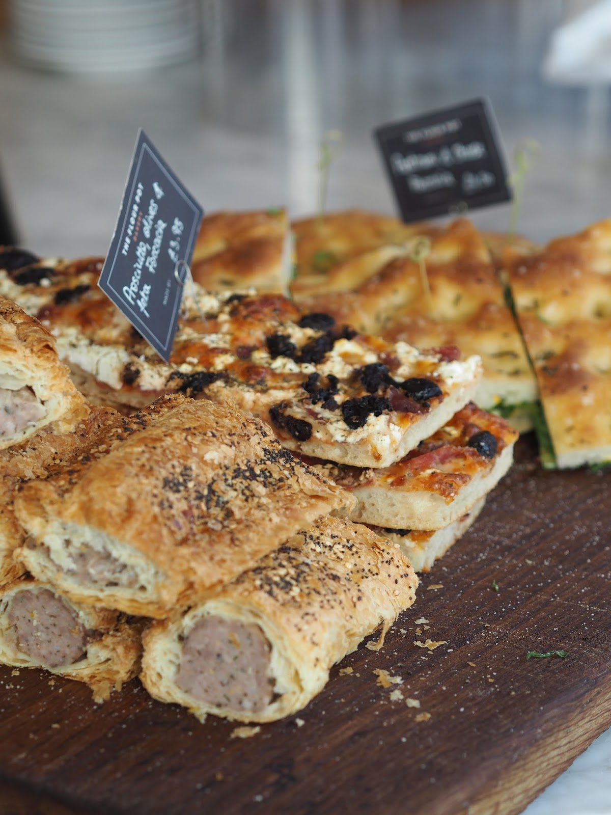 Savoury Treats In The Flour Pot Bakery