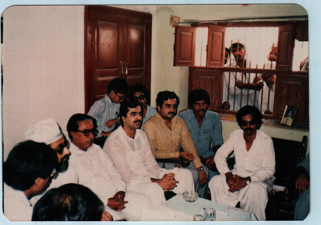 Syed Yousuf Raza Gillani Condoling after Mr. Shams Malik's Death with his Sons