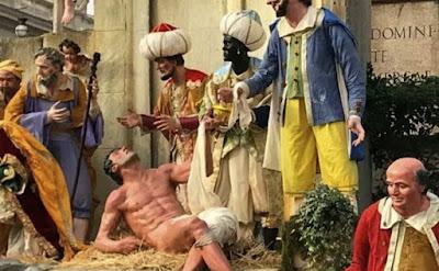Vatican creche