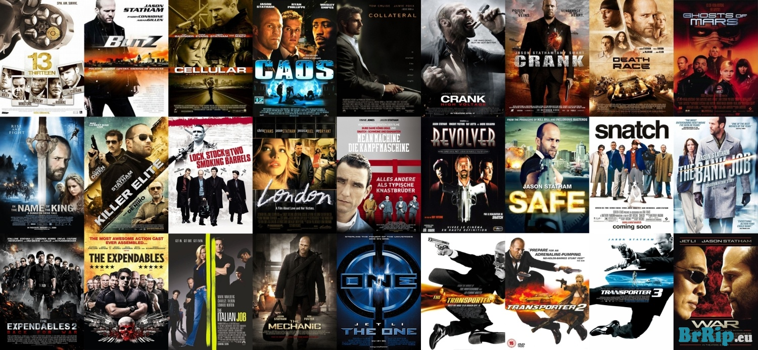 The New Cinema: JASON STATHAM MOVIE COLLECTION