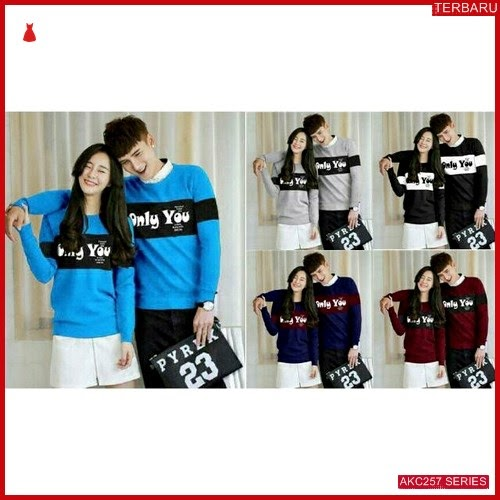 AKC257S44 Sweater Couple Anak 257S44 Only BMGShop