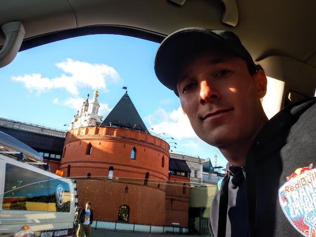 Андрей Думчев Red Bull Trans Siberian Extrerme - этап 1 Москва - Нижний Новгород