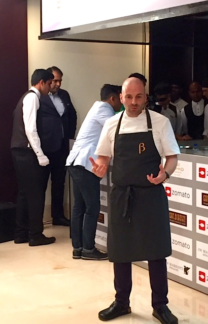 Meeting George Calombaris in Bangalore