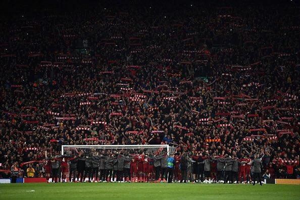 وصل ليفربول إلى نهائي دوري أبطال أوروبا للموسم الثاني على التوالي بعد ليلة بالغة الأهمية في ملعب أنفيلد.
