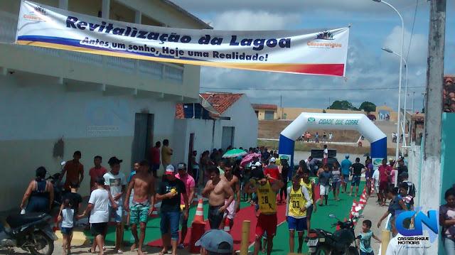 Cobertura dos eventos esportivos na Festa de 24 Anos de Emancipação Política de Casserengue