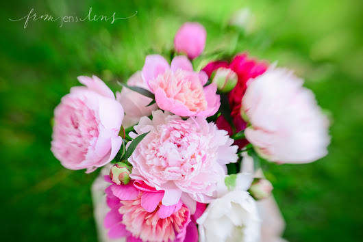 Wisconsin | Styled | Pretty Pink Peonies
