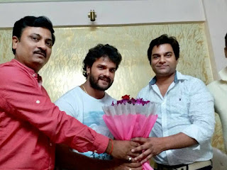 khesari Lal Yadav sign agreement
