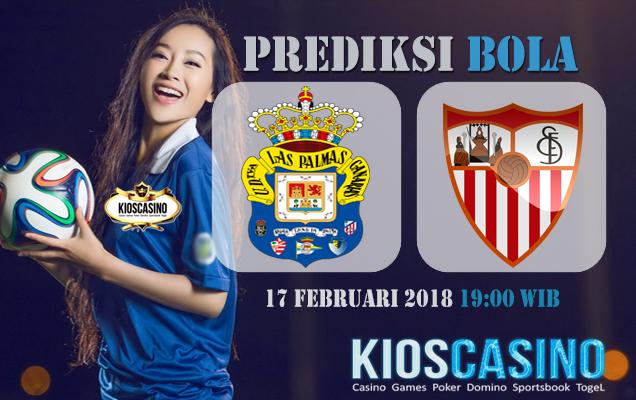 Prediksi  Las Palmas vs Sevilla 17 Februari 2018