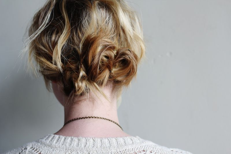 Love My Hairstyle: Quick Twisted Buns