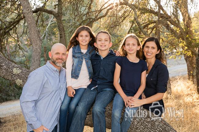 Atascadero portrait photography - family portrait photographer - Studio 101 West Photography