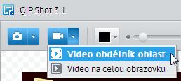 QIP Shot zachytávání videa