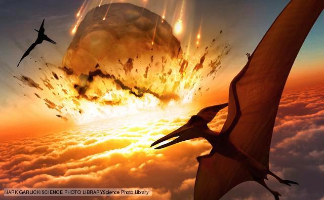 asteroide que extinguiu os dinossauros