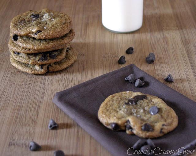 vegan+chocolate+chip2 CCC Monday: Vegan Chocolate Chip Cookies