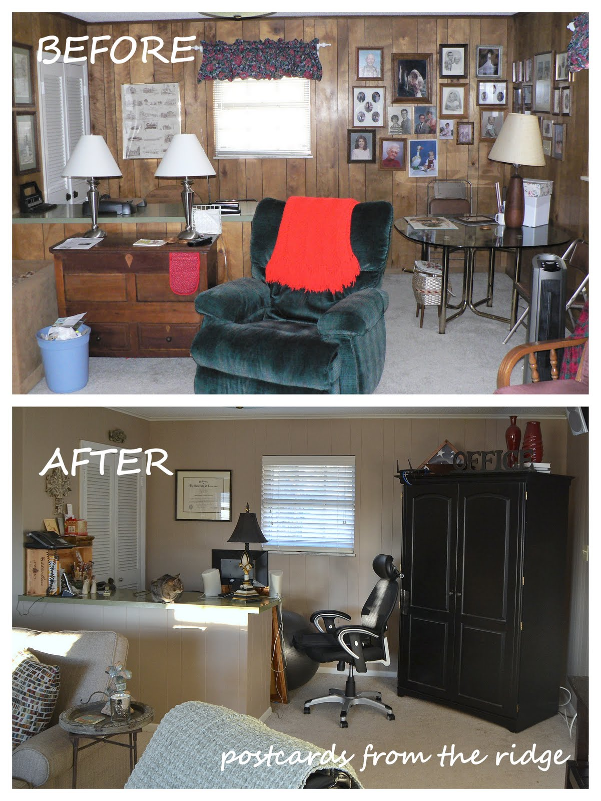 Painted Paneled Room: Tutorial: How To Paint Paneling Like A Pro