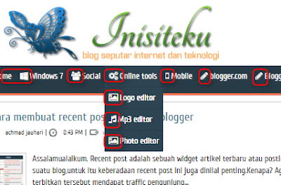 Cara memasang font awesome icon di blog
