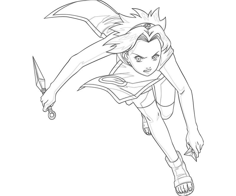 naruto characters coloring pages - naruto sakura character how coloring