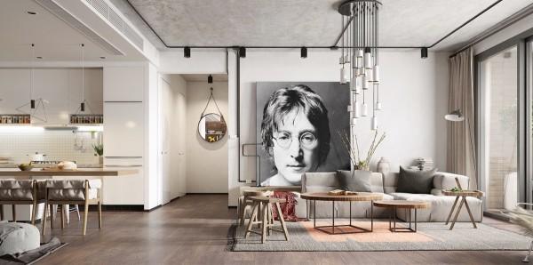 10 căn hộ tuyệt đẹp thể hiện vẻ đẹp của thiết kế nội thất Bắc Âu