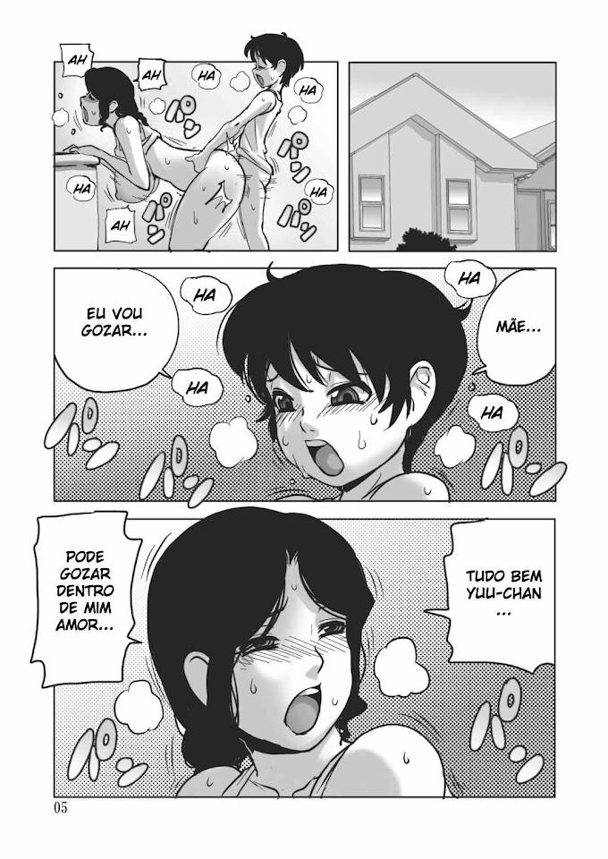 Hentai gozando dentro da mamãe