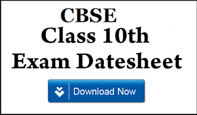 CBSE Date Sheet Check Now