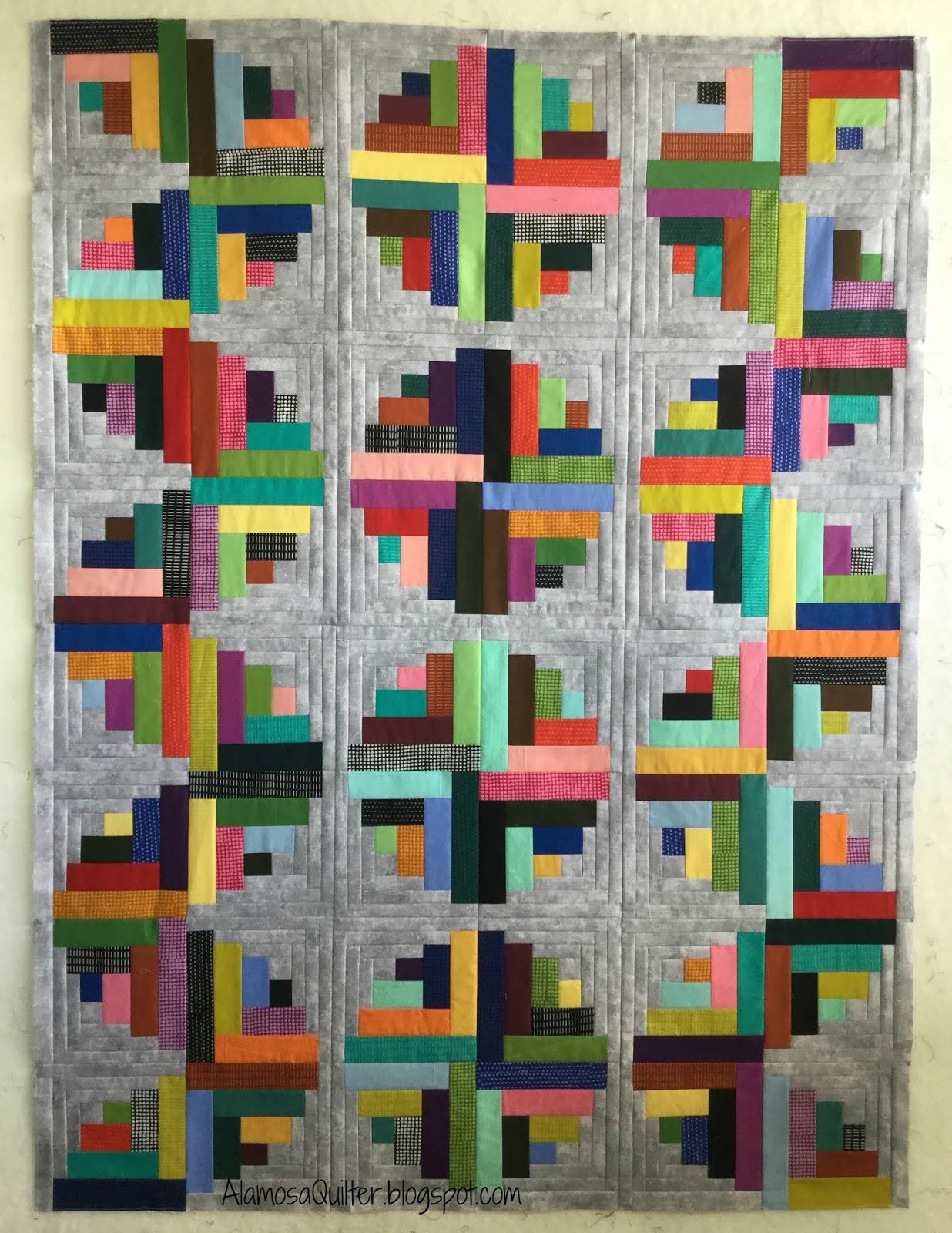 Curved Log Cabin Janine Burke Designs by jb,Log Cabin Design,DIY Quilt Pattern
