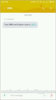 daftar bbm menggunakan nomor telepon