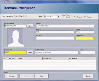 Software Perpustakaan Sekolah Dengan Barcode