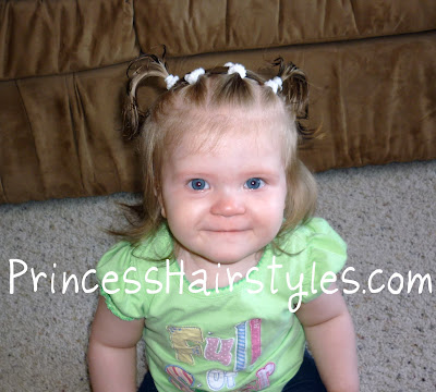 cute baby girl hairstyle