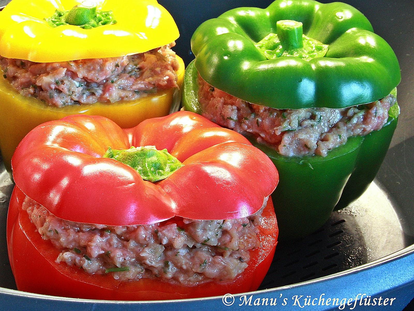 manus k chengefl ster gef llte paprika mit tomatenrahm. Black Bedroom Furniture Sets. Home Design Ideas