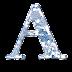 Alfabeto Floral en Azul.