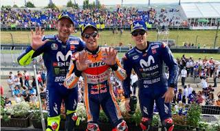 Klasemen MotoGP 2018 Terbaru Usai GP Jerman: Marquez, Rossi, Vinales