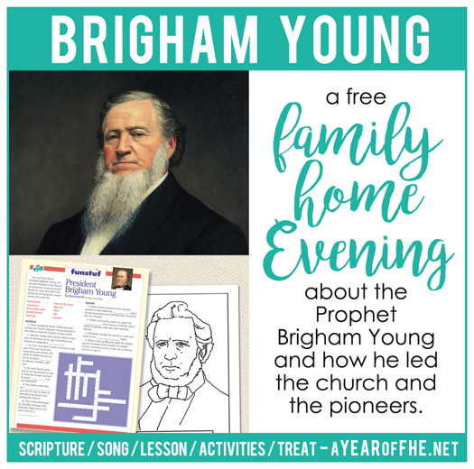 Lds Quotes On Family Home Evening: A Year Of FHE: LDS Family Home Evening // Pioneer Prophet