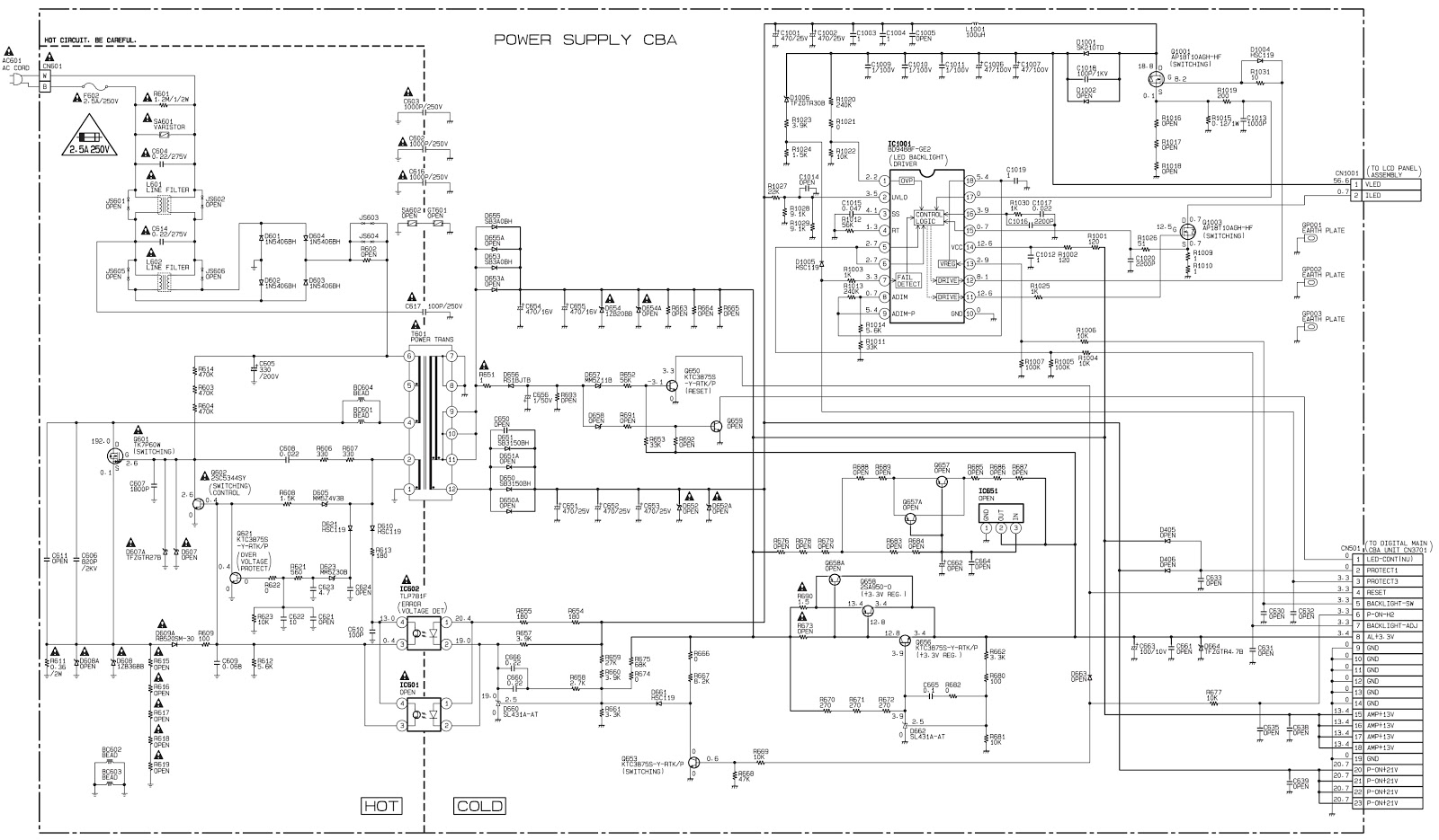 Magnavox  Emerson and Funai 32 inch LCD TVs – service mode