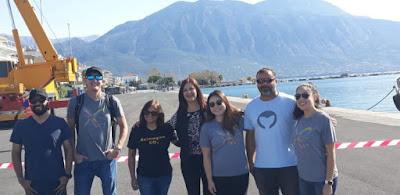 Νικολάκου με πλήρωμα και μέλη του Xprize