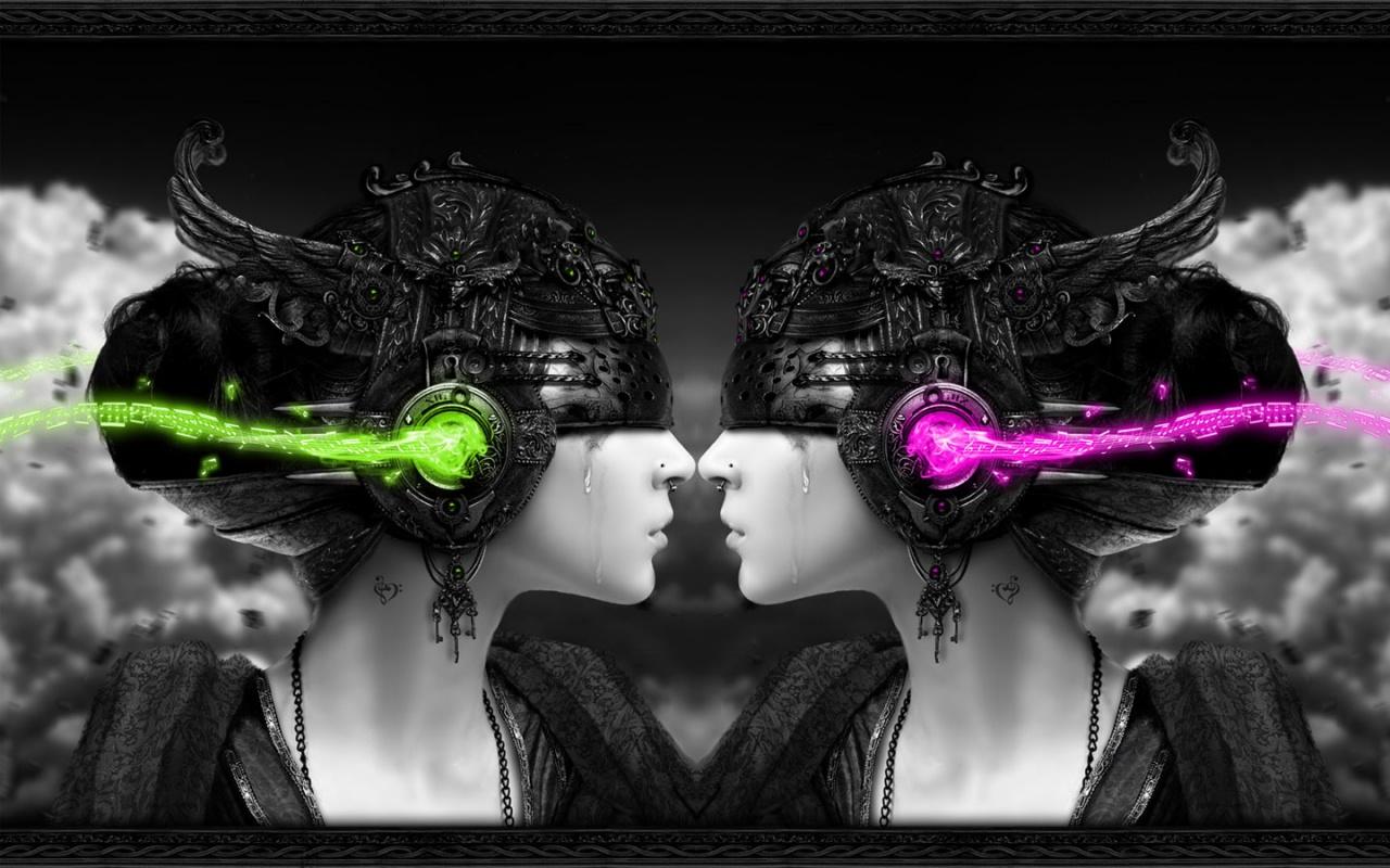 Wallpapers Hd 3d Music: Fantasy 3D Music Wallpaper
