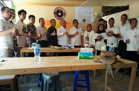 Kopi Dindiang Way to Share Hadir di Kampus UBH Aia Pacah