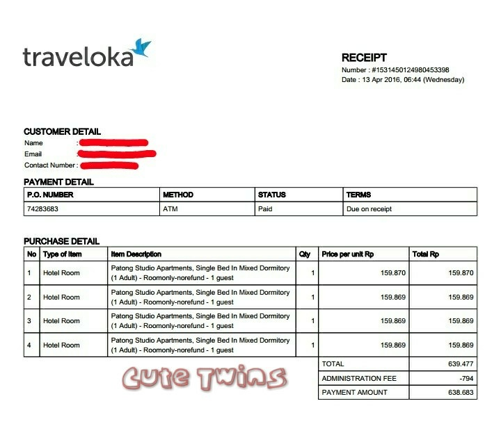 Kembar Imut Jalan Jalan Cara Dan Tips Check In Hotel Dengan Voucher Online Traveloka