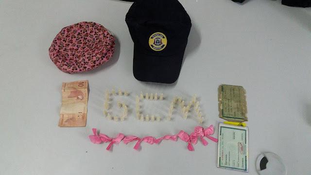 GCM de Suzano detém elementos com drogas pelo Jd. Lincon