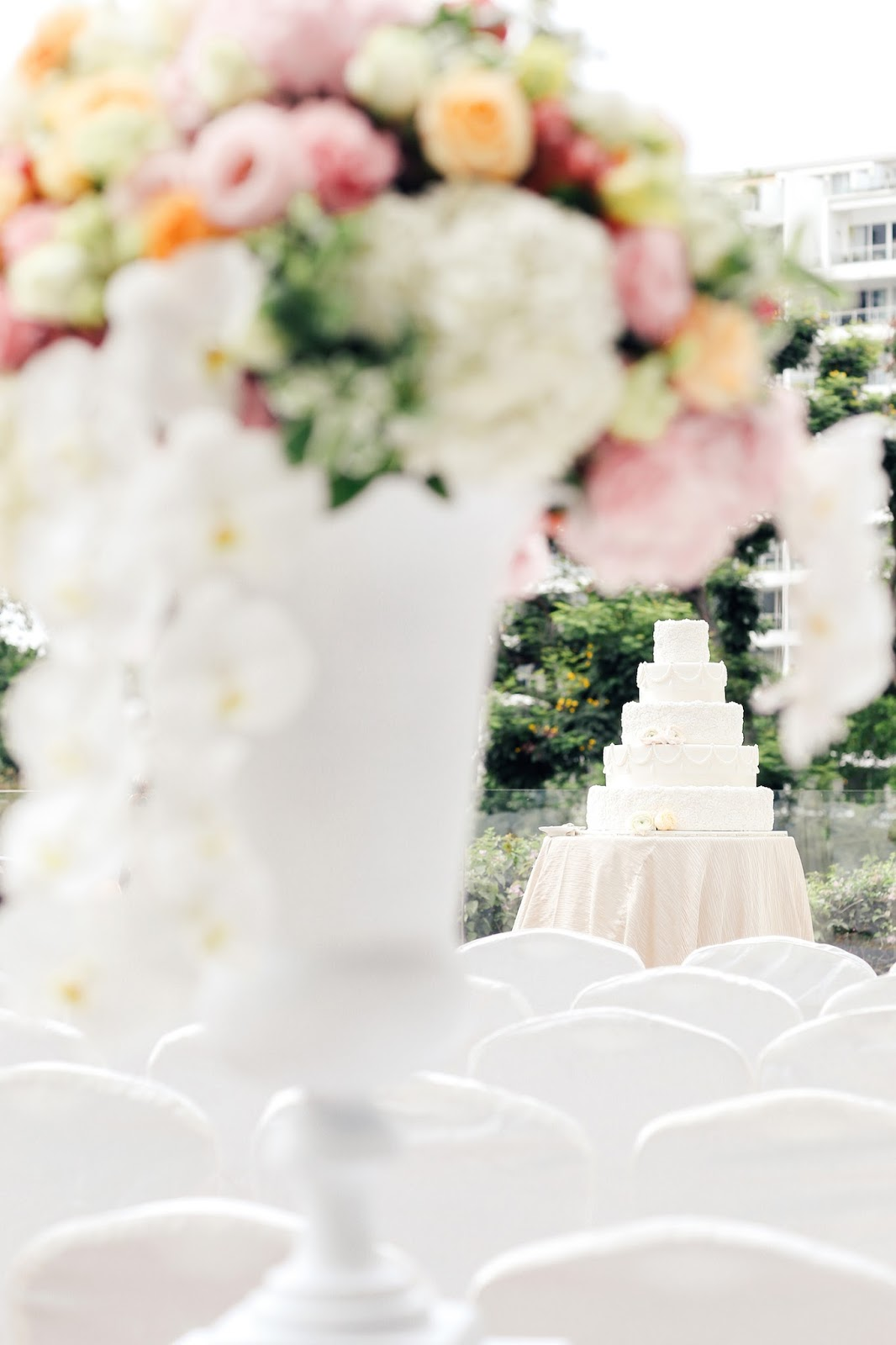 Hitched Wedding Planners Singapore: Outdoor Garden Wedding At ...