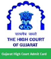 Gujarat High Court Admit Card