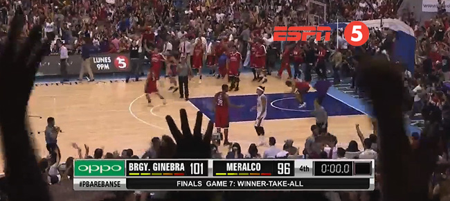 Ginebra def. Meralco, 101-96 (REPLAY VIDEO) Finals Game 7 / October 27
