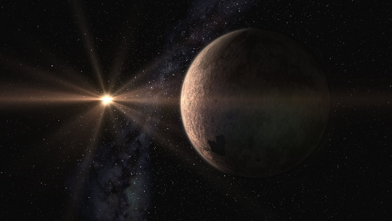 Astrónomos descubren una supertierra orbitando una estrella cercana
