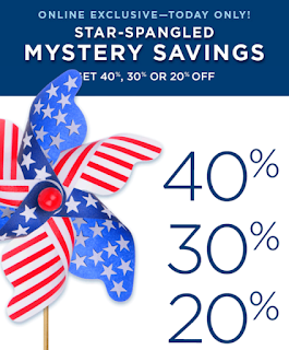 Kohls Mystery Saving 40/30/20% OFF 5/21/2017