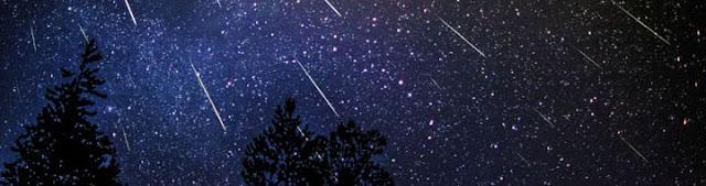 Chuva de Meteoros Perseidas - 11 e 12 de agosto