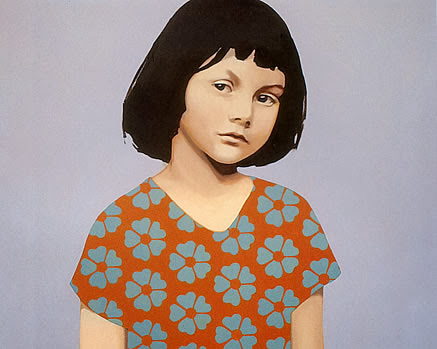 Claerwen James | British Painter | Children Paintings | 1970