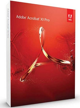 Adobe Acrobat XI Pro 11.0.21 poster box cover