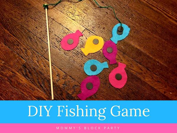 DIY Fishing Game for Kids
