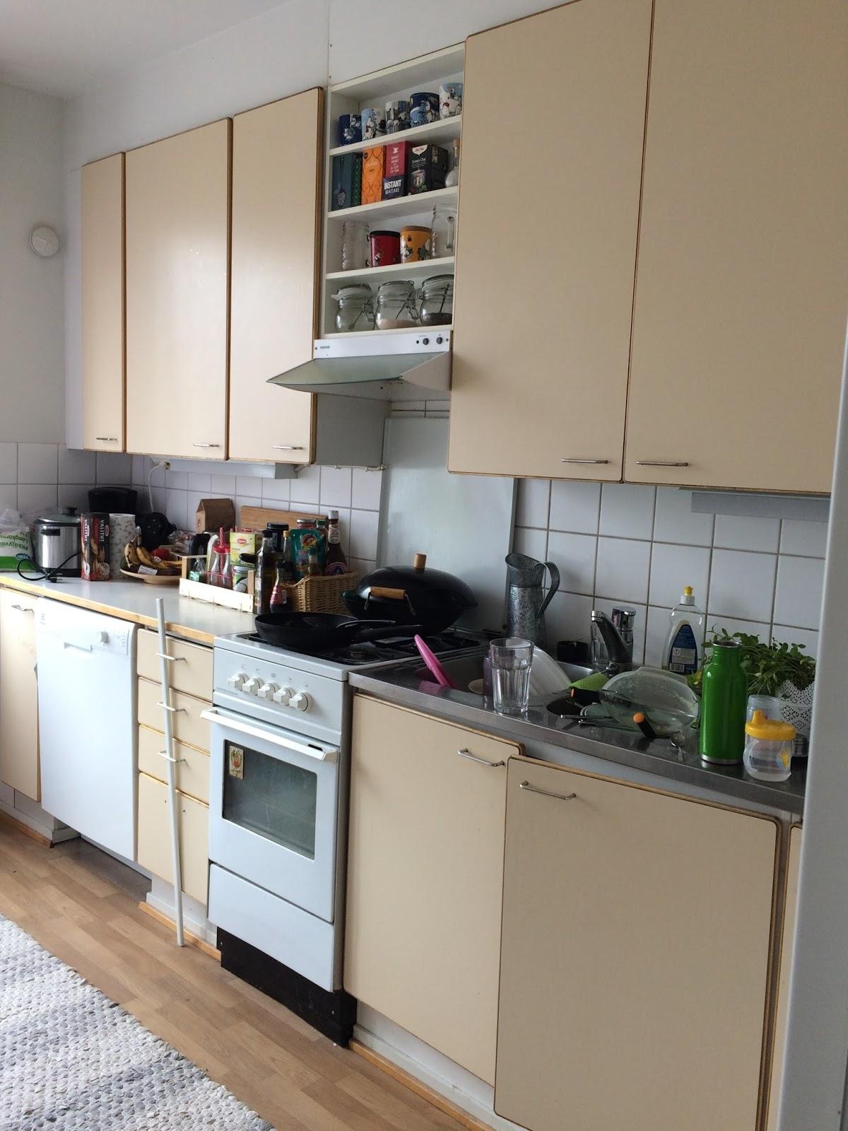 keittiön muutos ennen
