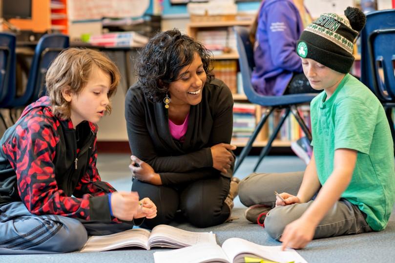 Vasanthi Meyette and Sam Nelson honored as Vermont teacher