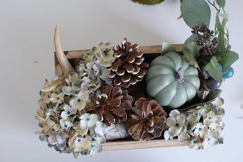 easy peasy fall arrangement