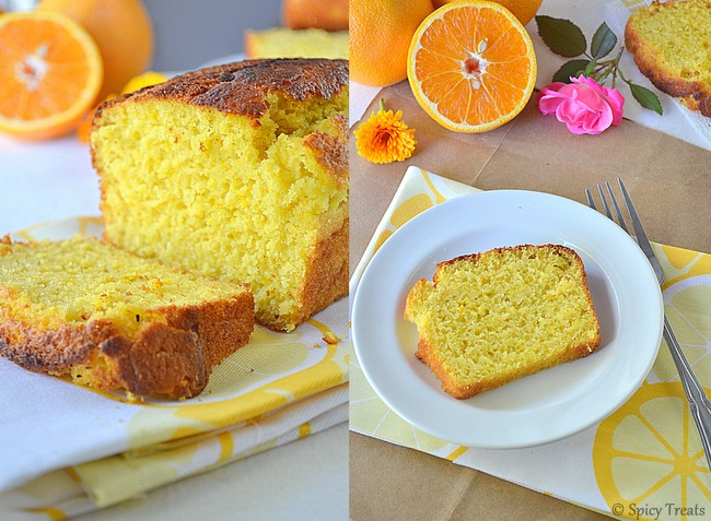 Low Calorie Loaf Cake Recipes: Spicy Treats: Orange Loaf Cake / Low Calorie Orange Loaf